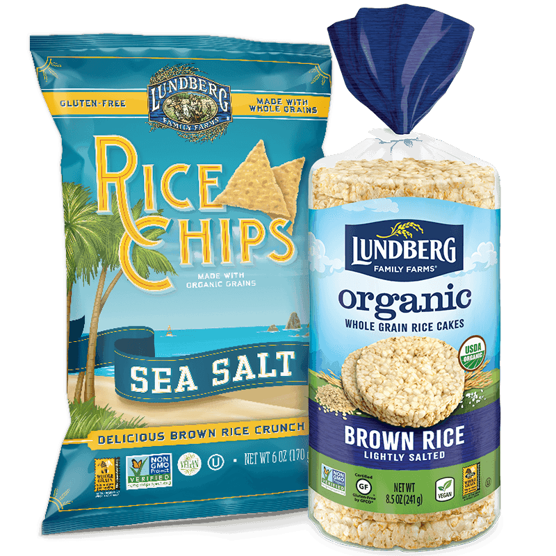 Lundberg Rice Cakes and Chips