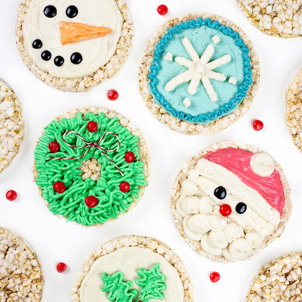 Holiday Rice Cakes