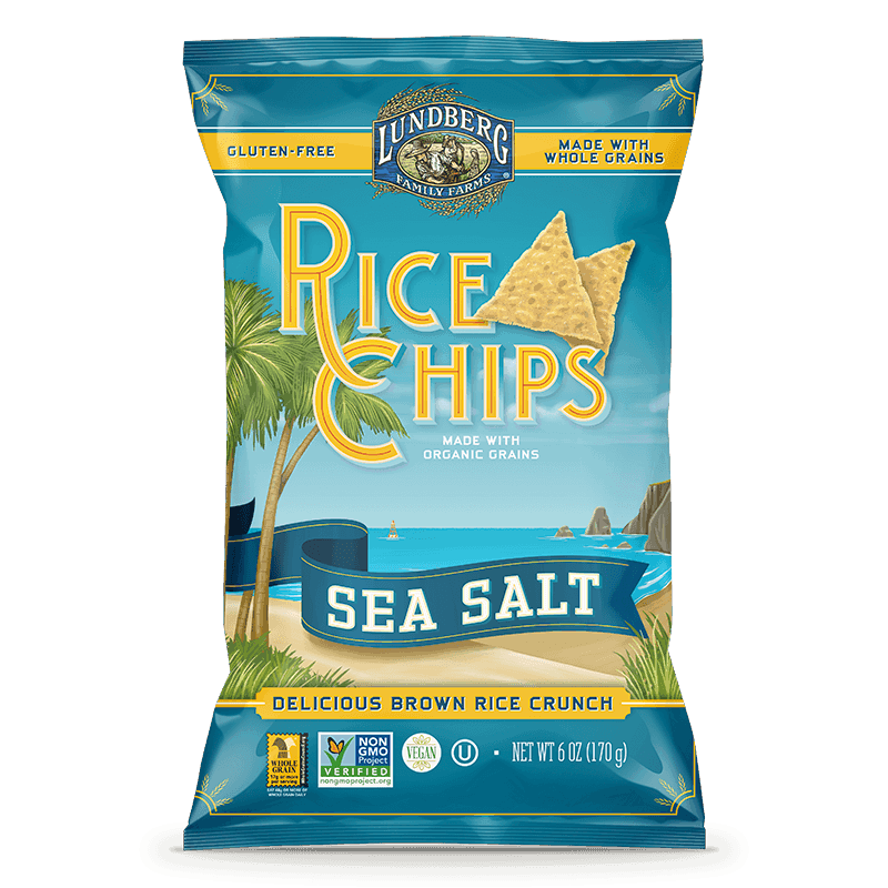 Sea Salt Rice Chips