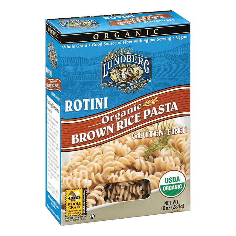 Organic Brown Rice Rotini Pasta