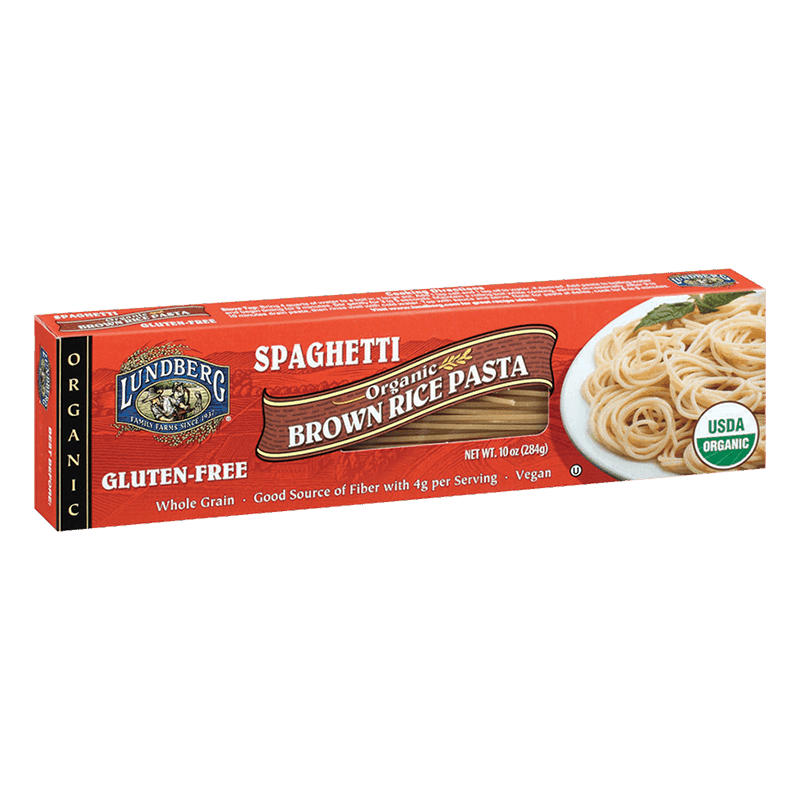 Organic Brown Rice Spaghetti Pasta