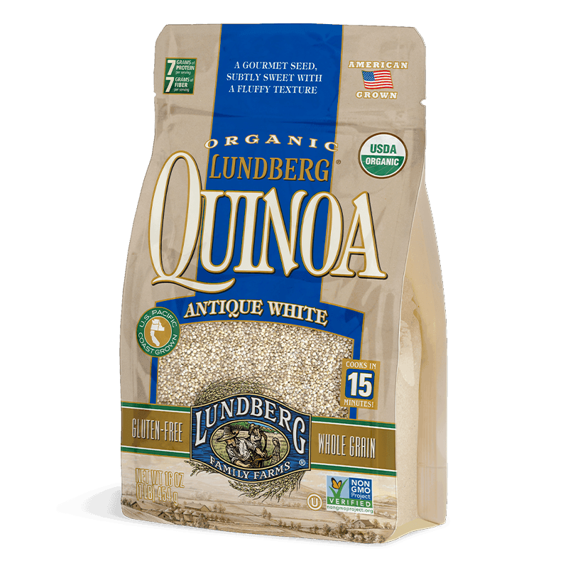 Organic Antique White Quinoa