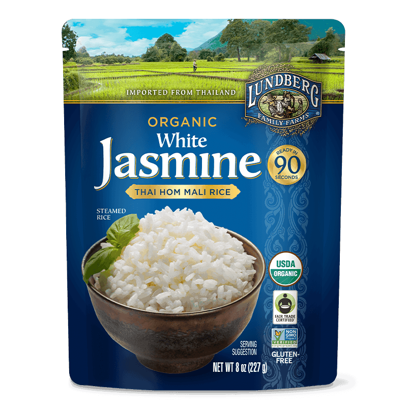 Organic White Thai Jasmine Rice