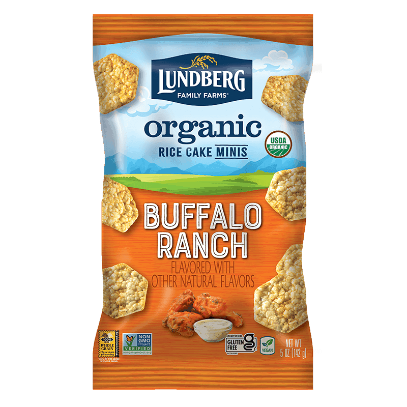 Lundberg Rice Cake Minis Buffalo Ranch