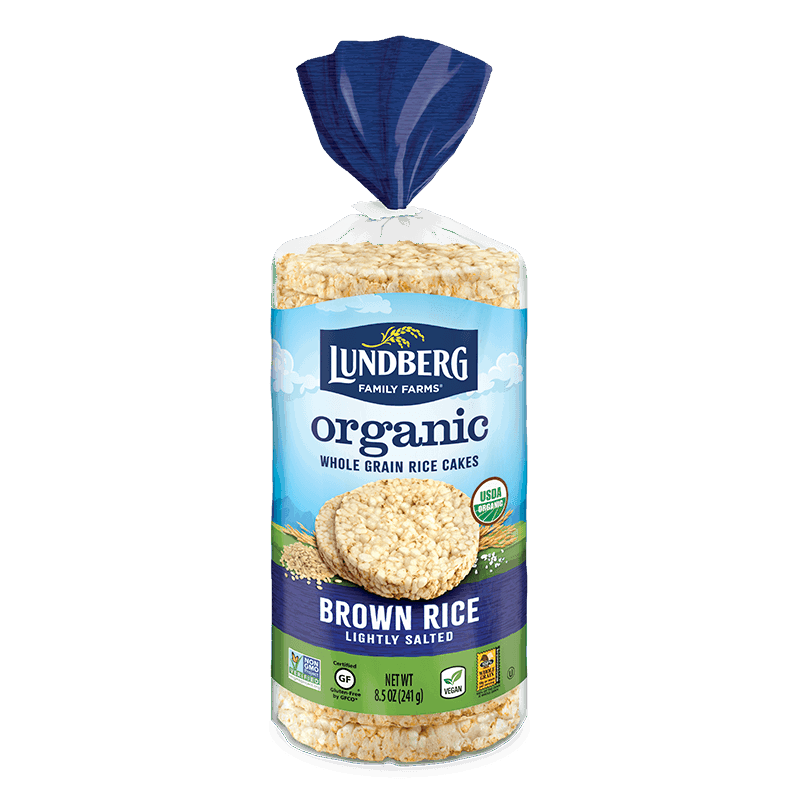 Organic Brown Rice Cake - Lightly Salted