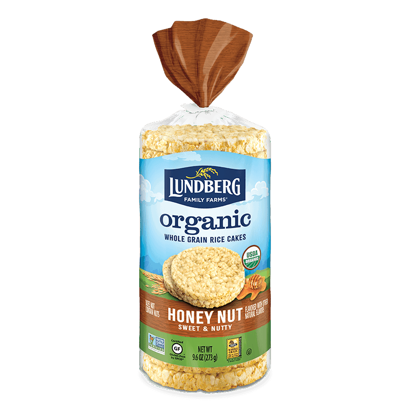 Organic Honey Nut Rice Cake