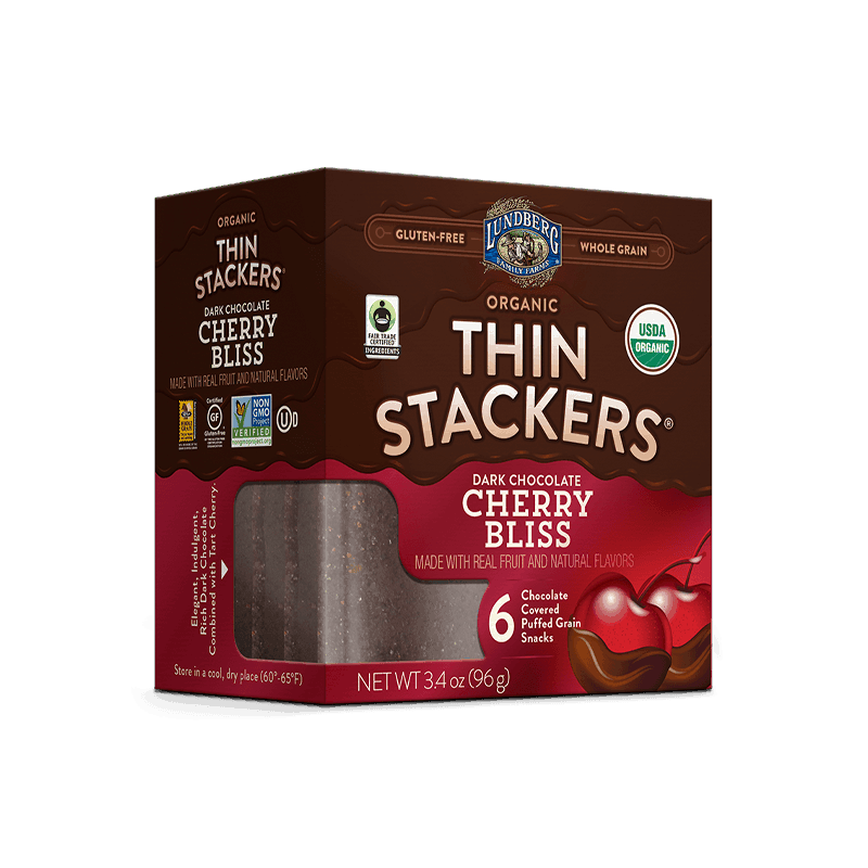 Organic Chocolate Thin Stacker - Cherry Bliss