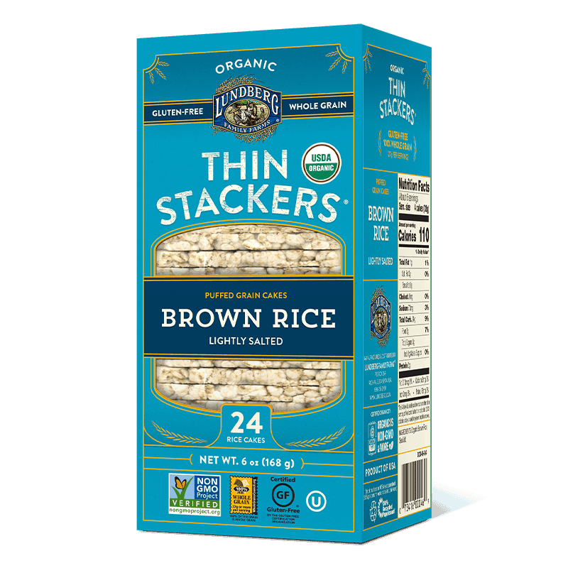 Organic Thin Stackers - Lightly Salted