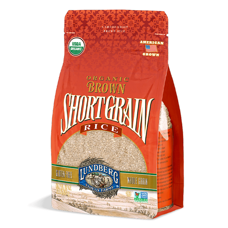 Organic Brown Short Grain Rice