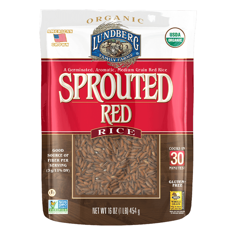Organic Sprouted Red Rice