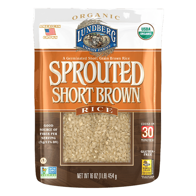 Organic Sprouted Short Grain Brown Rice image