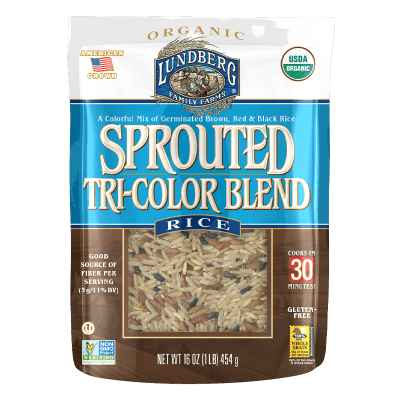 Organic Sprouted Tricolor Rice Blend