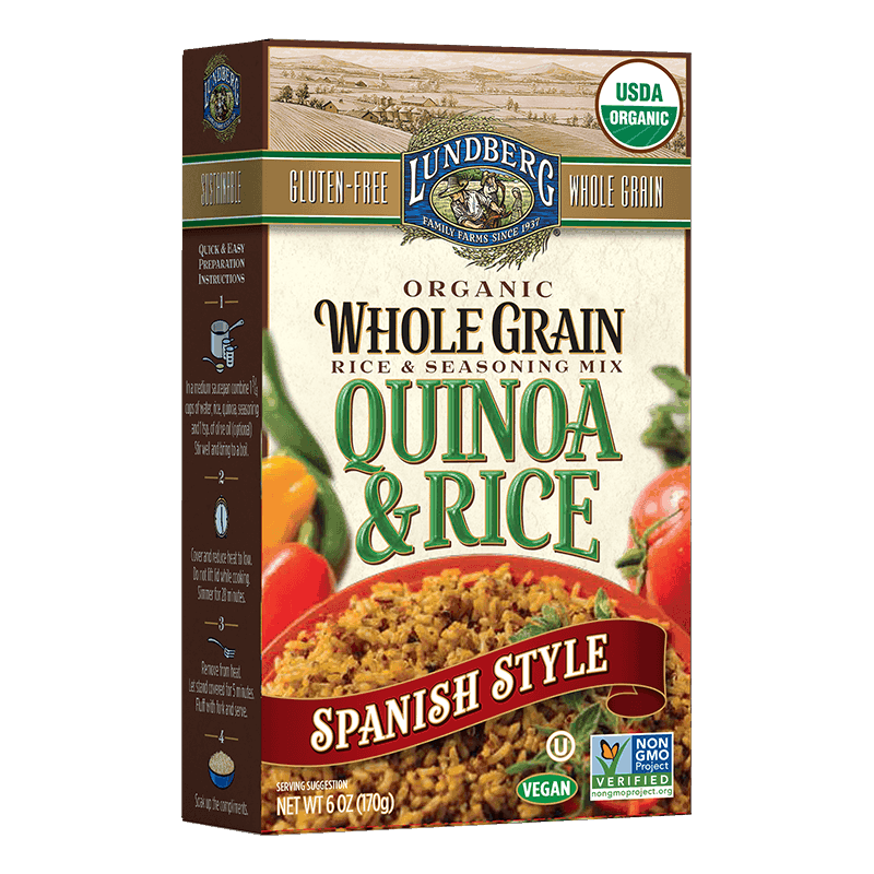 Organic Whole Grain Rice & Quinoa - Spanish Style