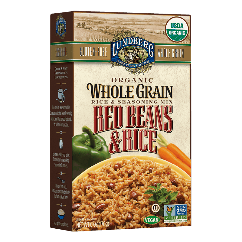 Organic Whole Grain Rice & Red Beans
