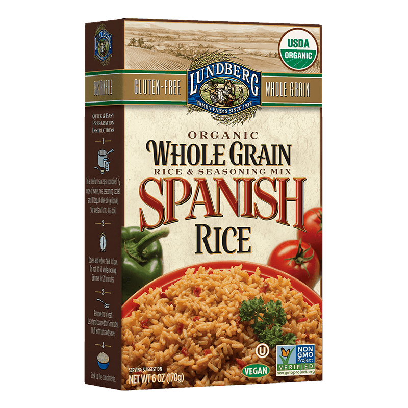 Organic Whole Grain Spanish Rice