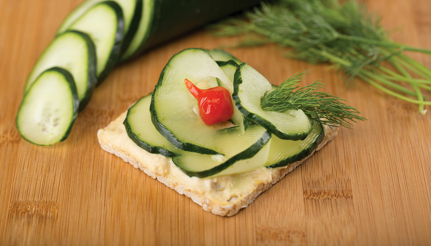 Lundberg Thin Stacker with Cucumber and Dill