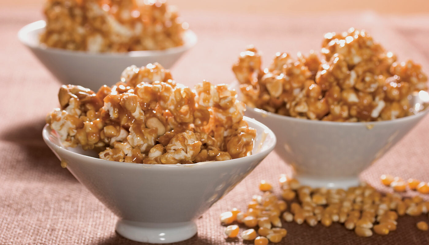 Caramel popcorn with Brown Rice Syrup