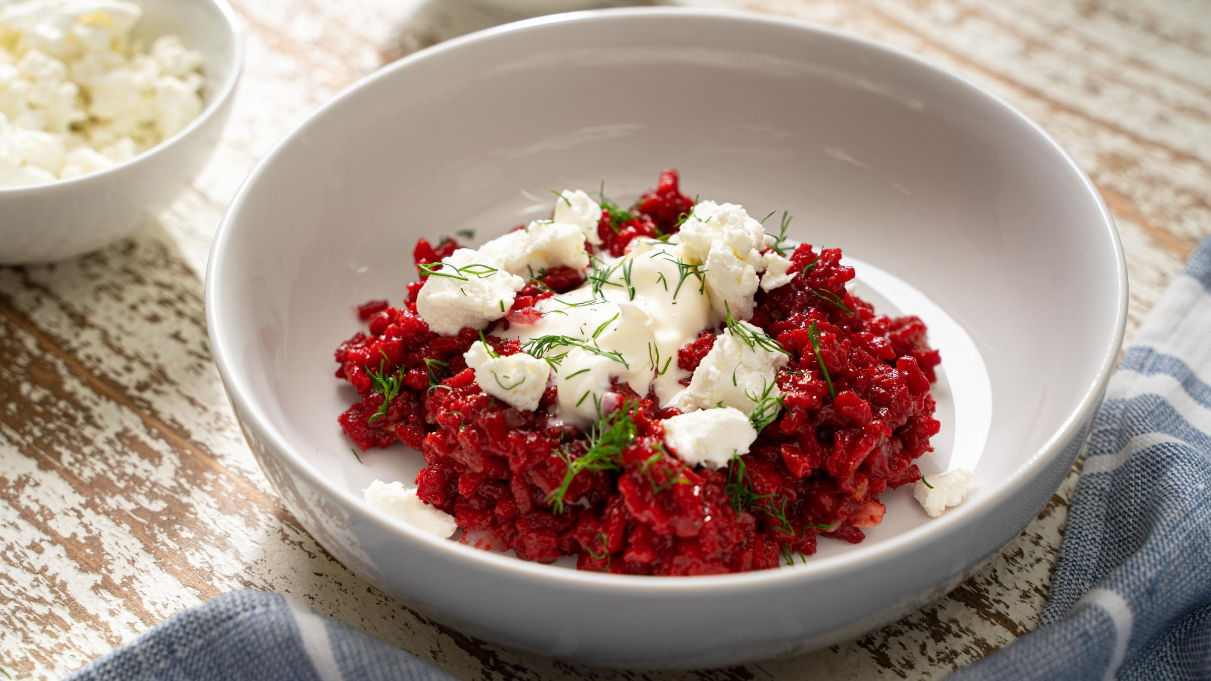 Beet & Goat Cheese Risotto