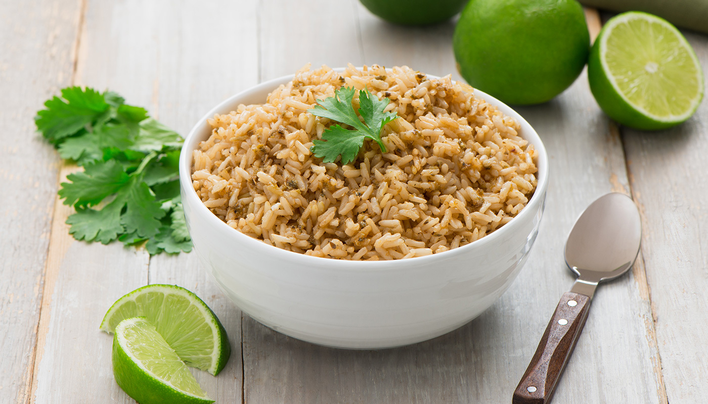 Cilantro Lime Brown Basmati Rice