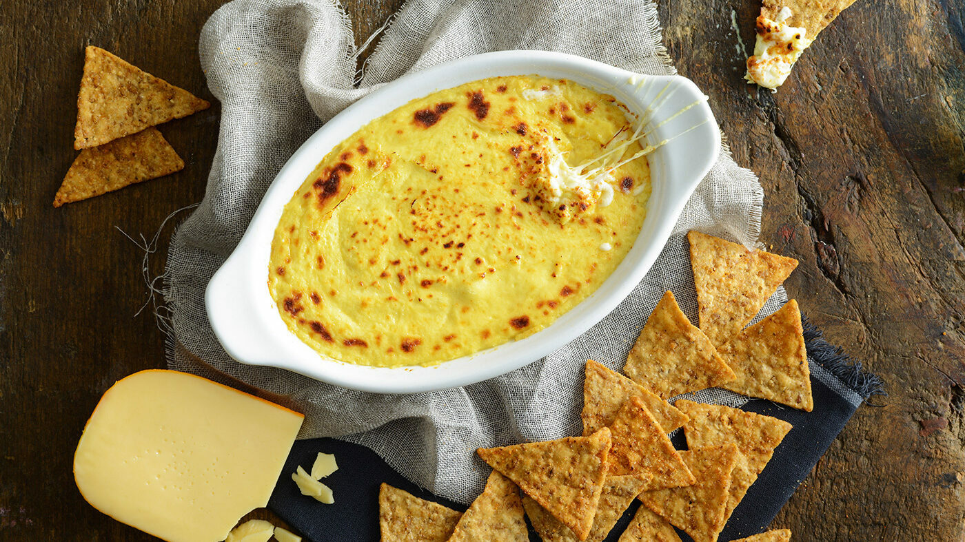 Smoked Gouda Beer Cheese Dip