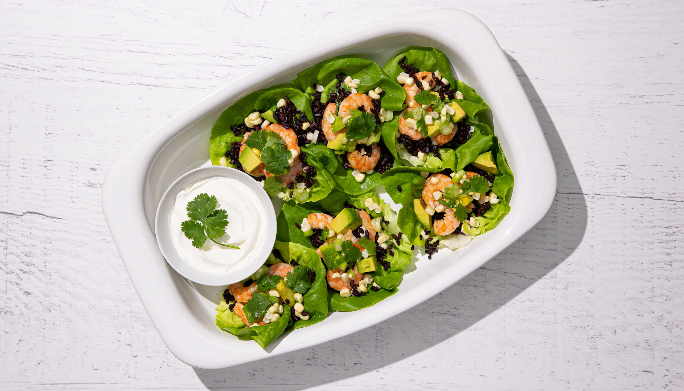Summer Lettuce Cups