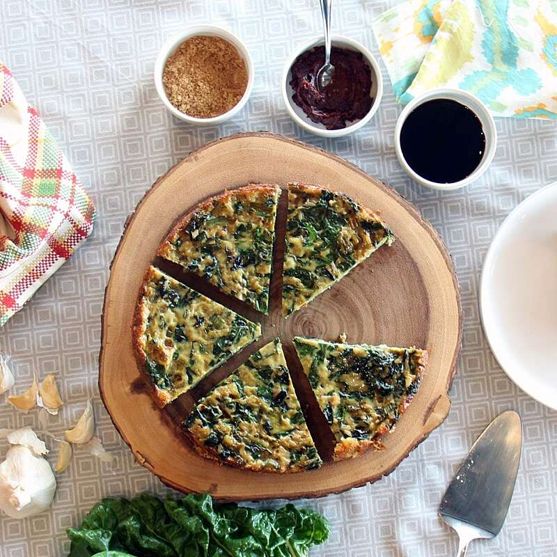 Rice and Greens Frittata