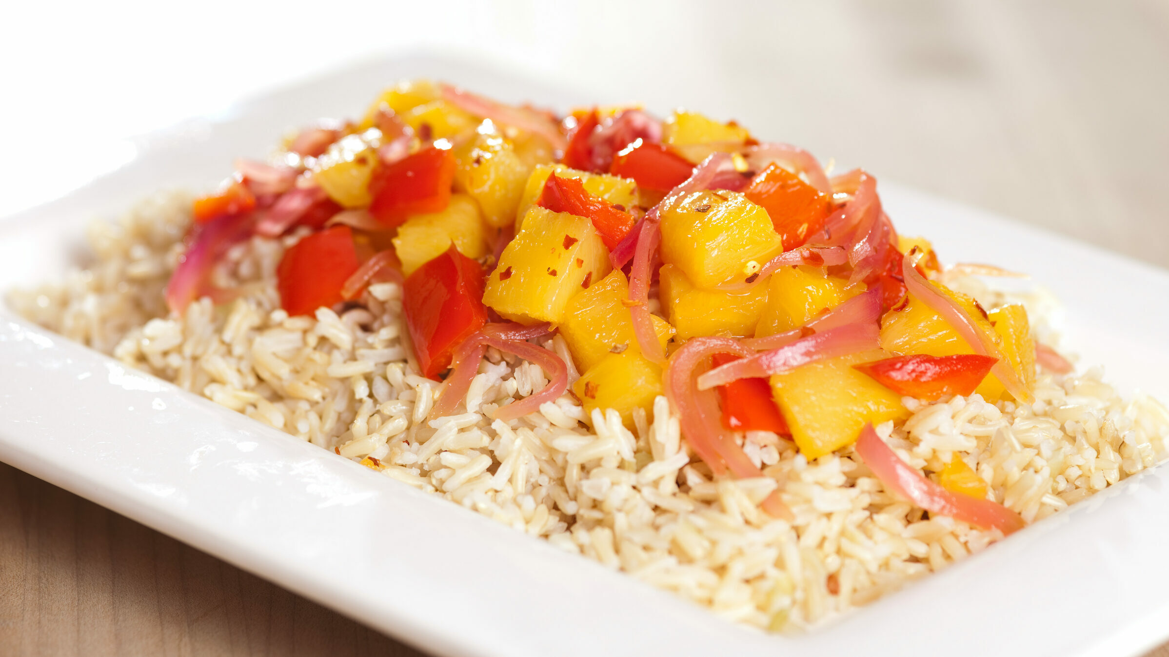Spicy Luau Rice