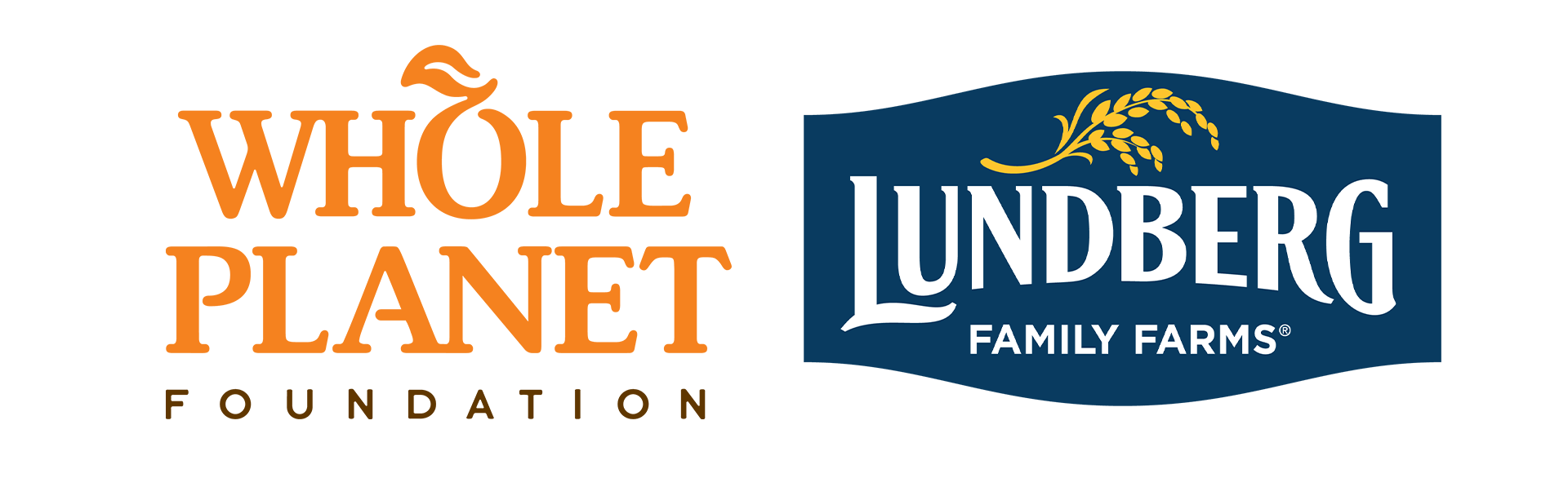 Whole Planet Foundation and Lundberg Family Farms Logos