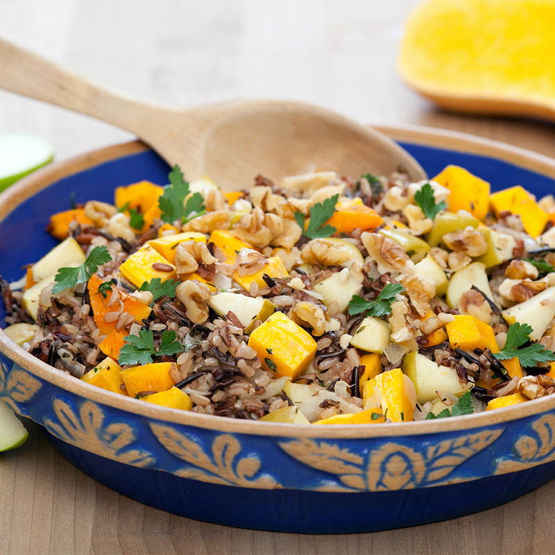 Wild Blend Rice with Apples Butternut Squash